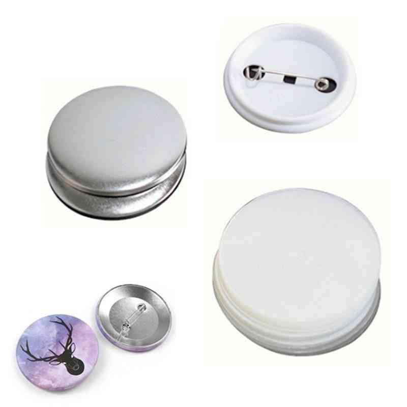 Blank Pin Button Badge Maker Making Parts