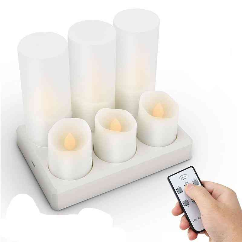 Rechargeable Candle Flashing Light