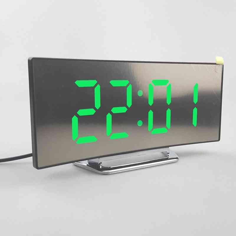 Electronic Alarm Clock Digital Led