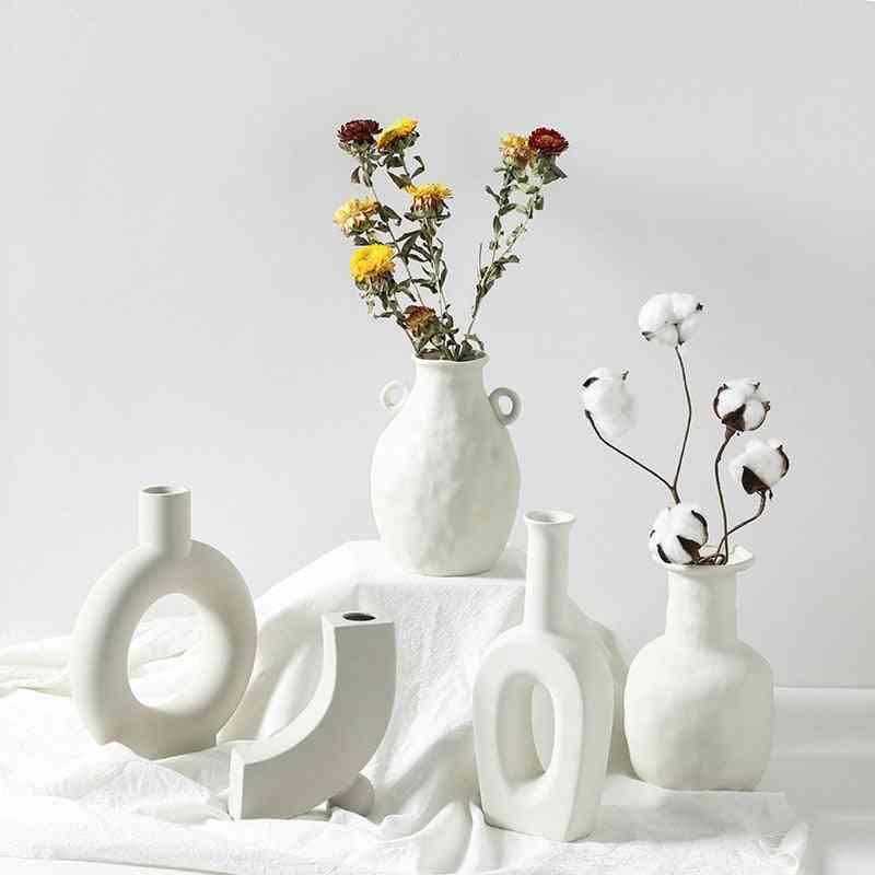 Ceramic Table Flower Vases