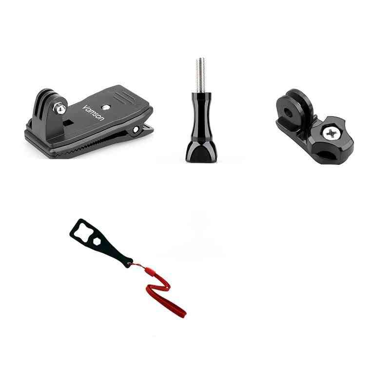 Vamson For Gopro 9 8 Accessories 360-degree Rotation Clip