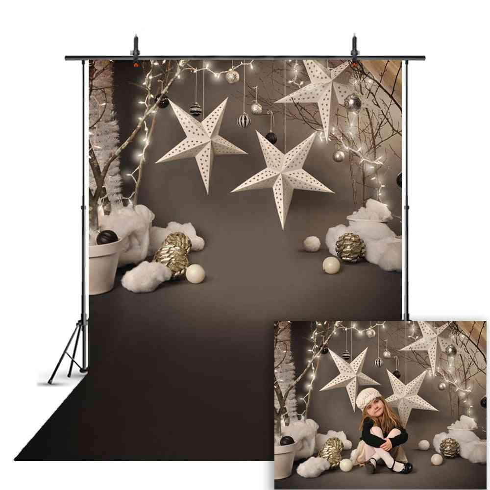 Portrait Backdrop For Photography Snowflake, Background For Photo