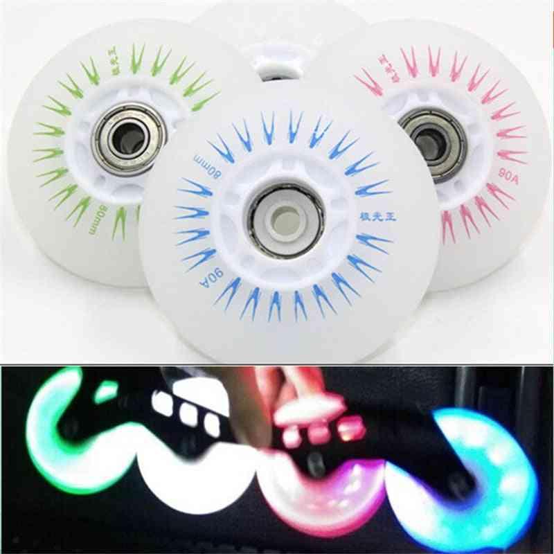 Led Flash Wheel (white)