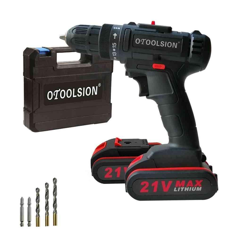 Small Drill Wireless Drill Battery Tools