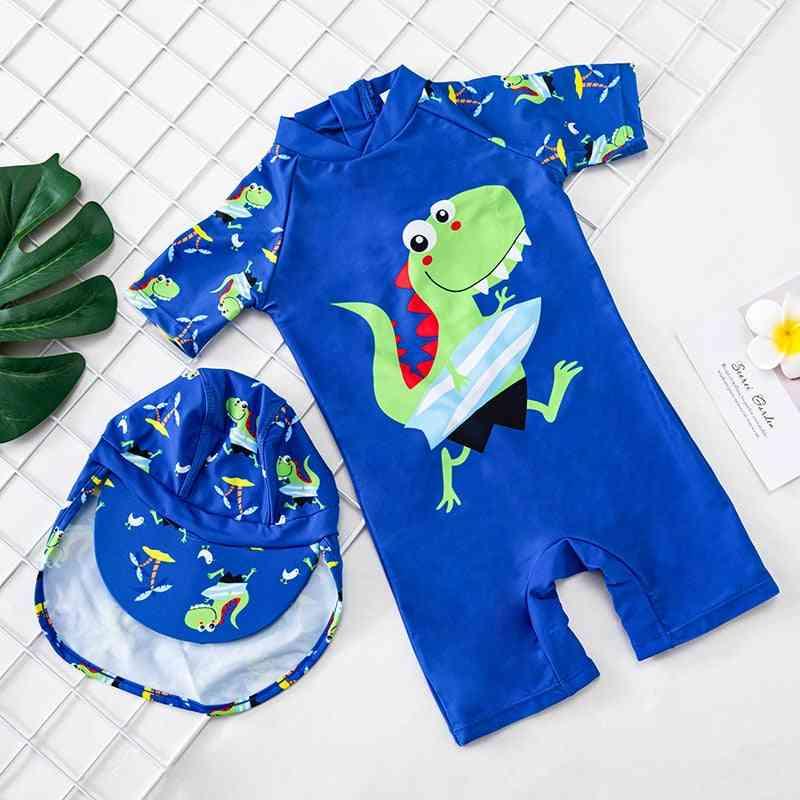 Baby Boy One Piece Swimwear, Bathing Suit (set-1)