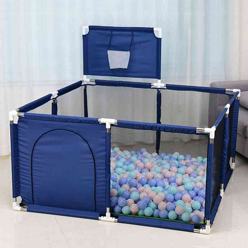 Children's Playpen, Baby Pool, Park Safety, Stainless Steel Fence, Kids Ball Pit, Baby Indoor Playground