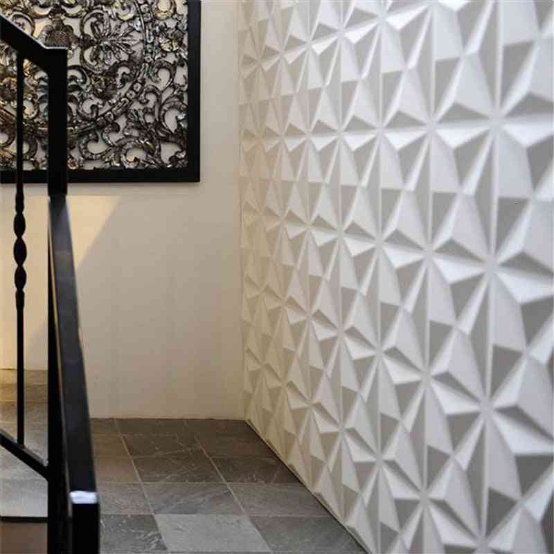 3d Wall Panel, Relief Room Decoration Stickers