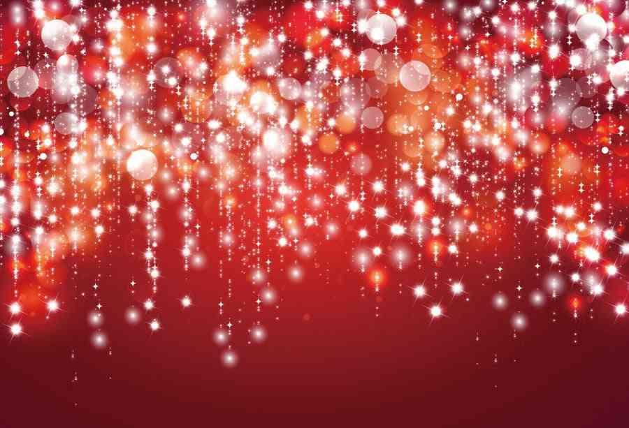 Laeacco Glitter Star Polka, Birthday Party Background Photography