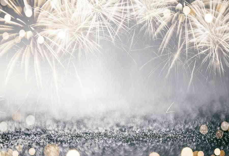 Fantasy Glitter Star Polka Light, Birthday Party Background Photography