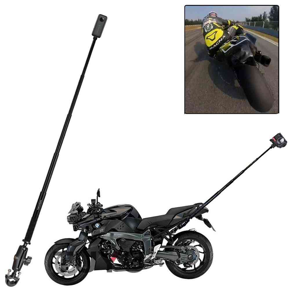 Motorcycle Bike Camera Holder Handlebar Bracket For Insta360 One R Stick Accessory