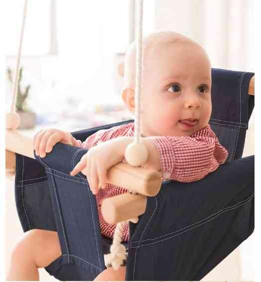 Cotton Indoor, Outdoor Baby Swing/ Hanging Chair