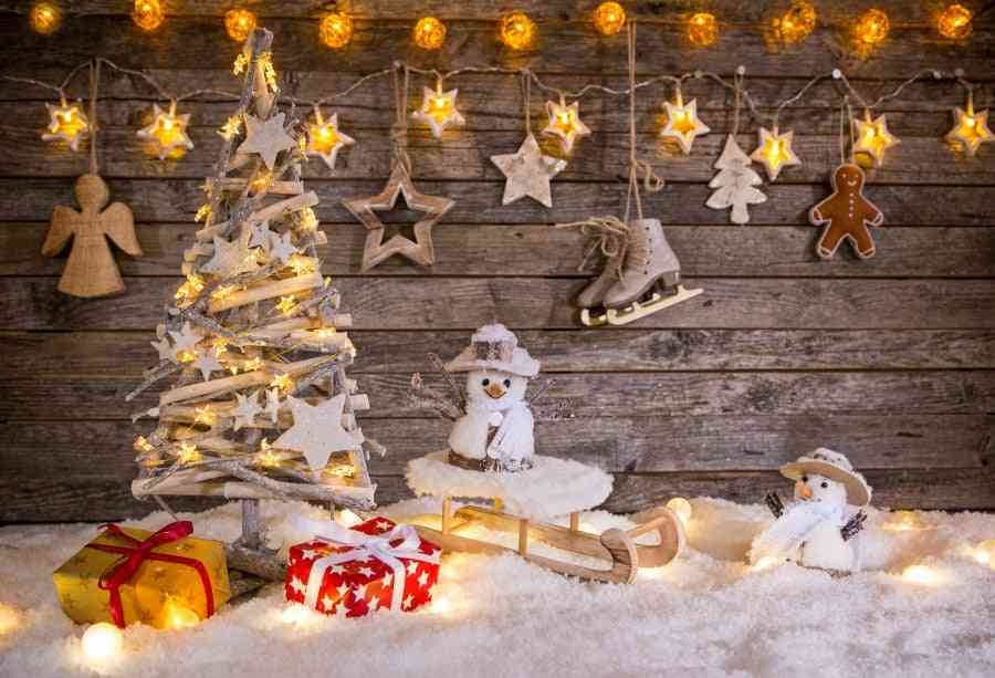 Newborn Baby Portrait ,christmas Backgrounds For Photography