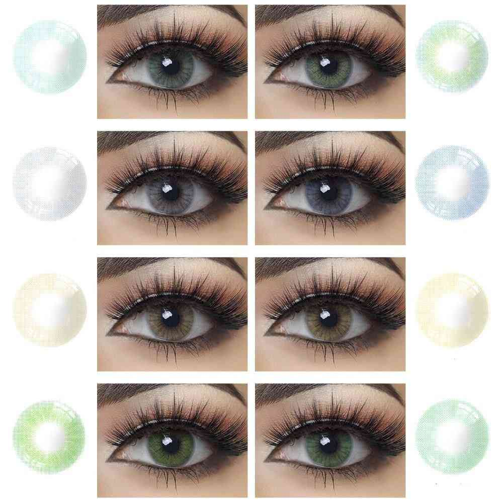 Natural Bright Cosmetic Eye Contacts Lens