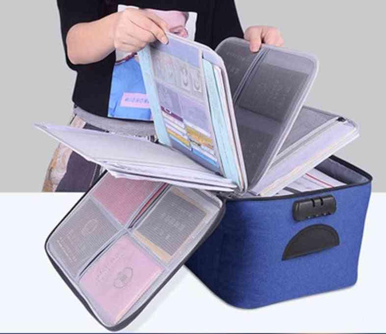 Portable Briefcase For Document Bag