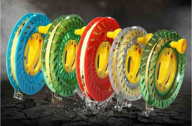 High Quality Kite Reel Various Colors Easy Control Outdoor Flying Wheel Line Winder Trilobite