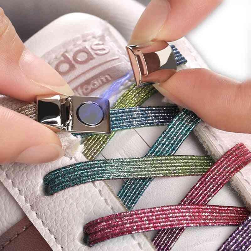 Magnetic Shoelaces Elastic Locking Shoelace