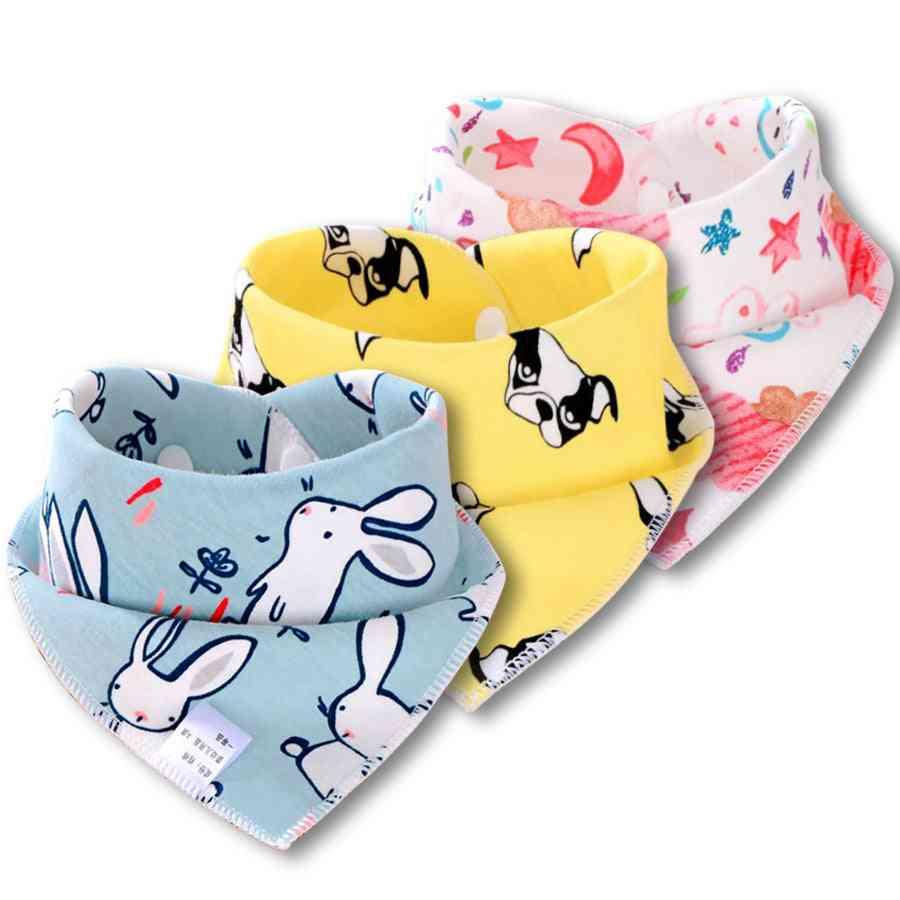 Cotton Baby Bibs For Baby, Scarf Feeding, Drool Slab, Waterproof,'s Apron, Burp Cloth