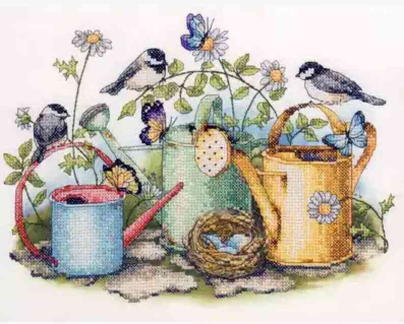 Gold Collection Lovely Counted Cross Stitch Kit