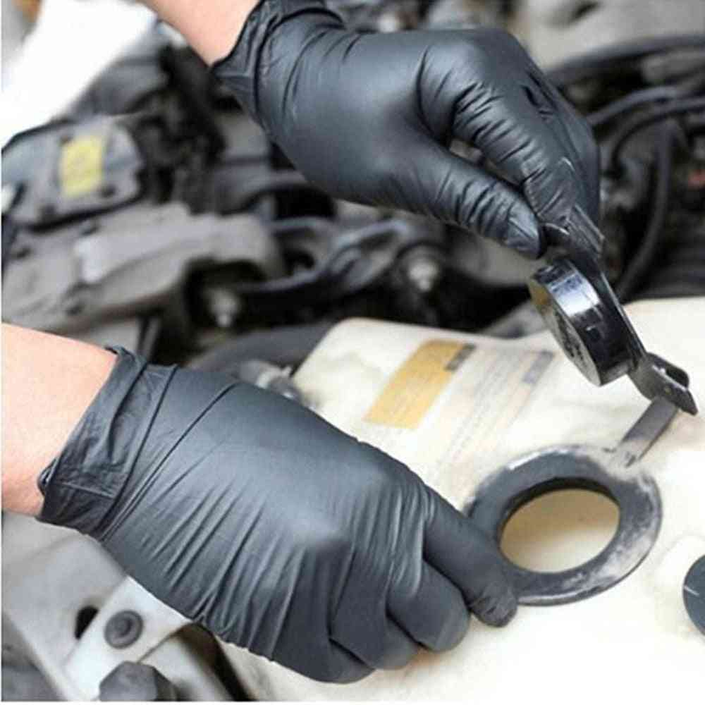 Disposable Nitrile Industrial Exam Glove Powder-free