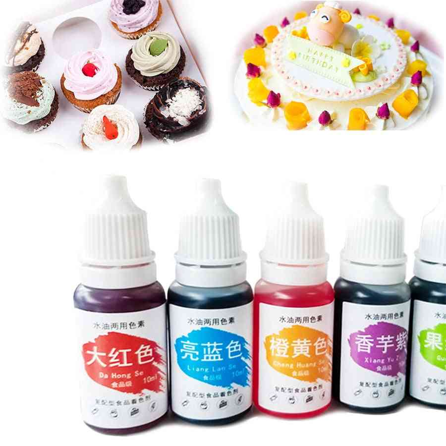 1pc 10ml Macaron Cream Food Coloring Ingredients Cake Fondant Tools