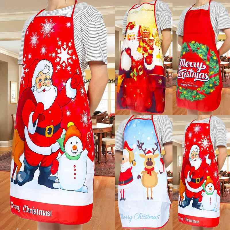 Christmas Adult Santa Claus Aprons