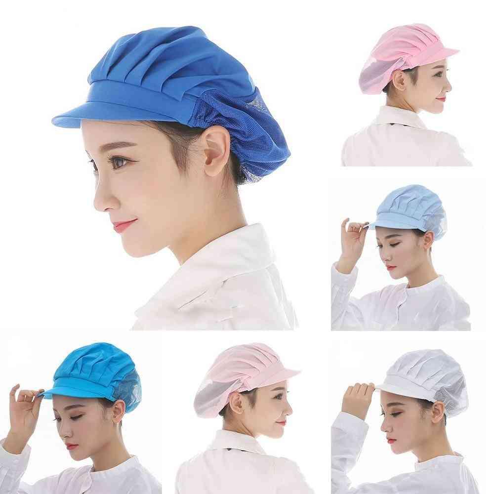 New Elastic Kitchen Hat Men Women