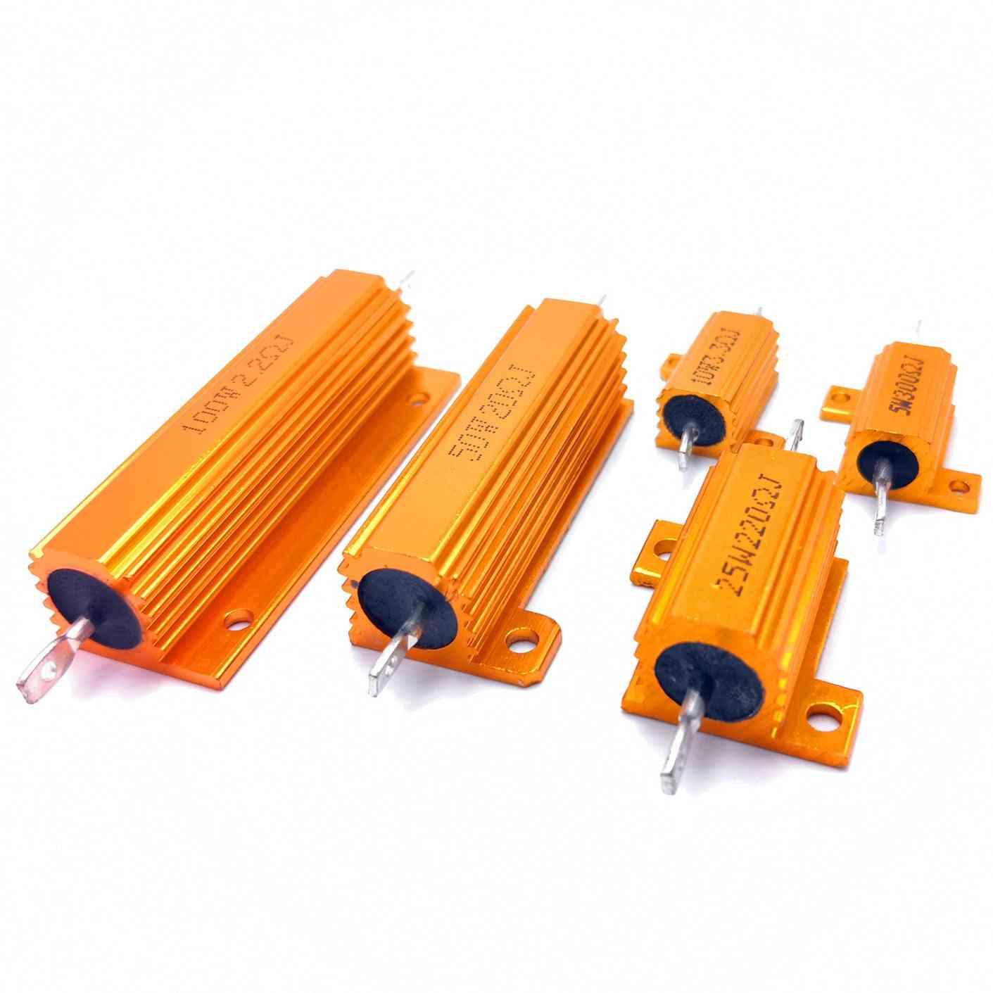Metal Shell Case Wirewound Resistor ( Set 1)