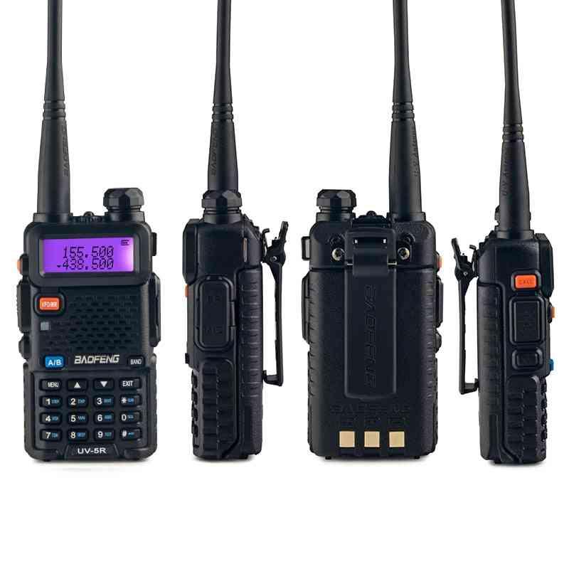 2 Sets Baofeng Uv 5r Walkie Talkie Radio Station Comunicador Uv-5r Ham Transceiver