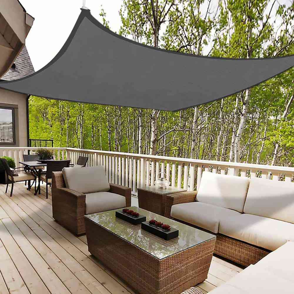 Sun Shelter, Sunshade Protection, Outdoor Canopy, Garden Patio Pool Shade, Sail Awning Camping Net