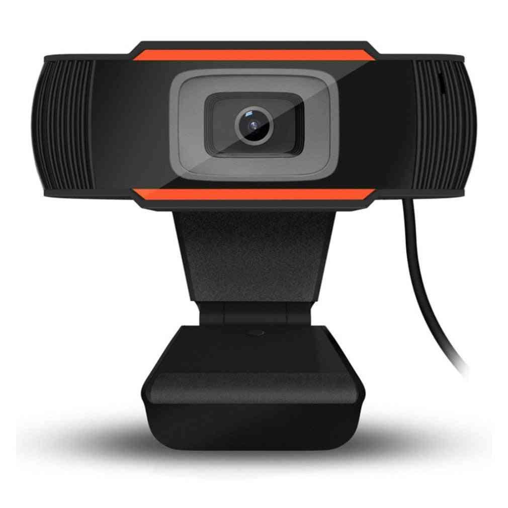30 Degrees Rotatable 2.0 Hd Webcam Usb Camera Video Recording Web Camera