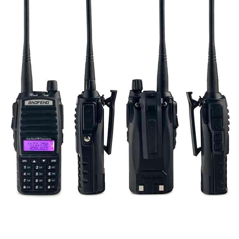 Uv82 Transceiver Walkie-talkie Two Way Radio Talkie Walkie Ham Radio Comunicador