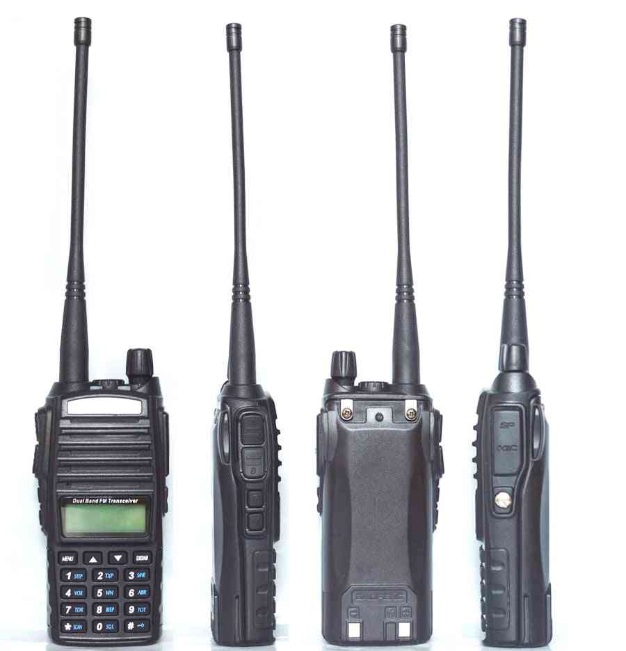 Portable Radio Walkie Talkie Baofeng Uv-82 Dual Ptt Button Two-way Radio
