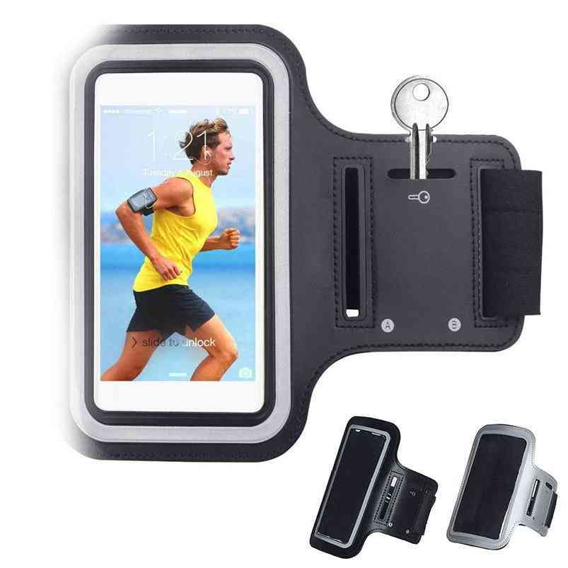 Black Waterproof Gym Sports Running Armband For Iphone
