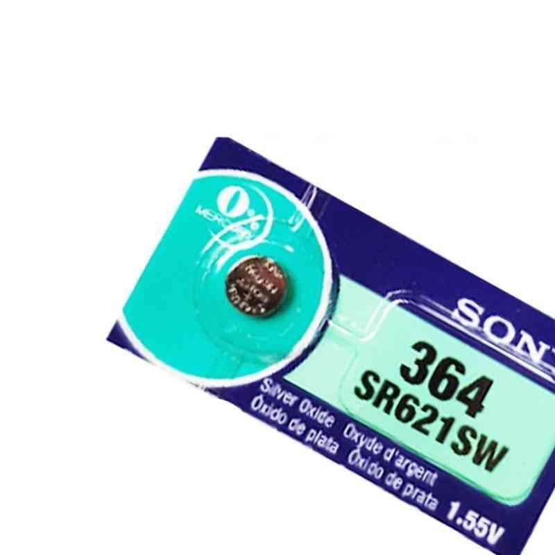 Sony 364 Sr621sw V364 Sr60 Sr621 Ag1 Lr621 164 531 1.55v Button Batteries