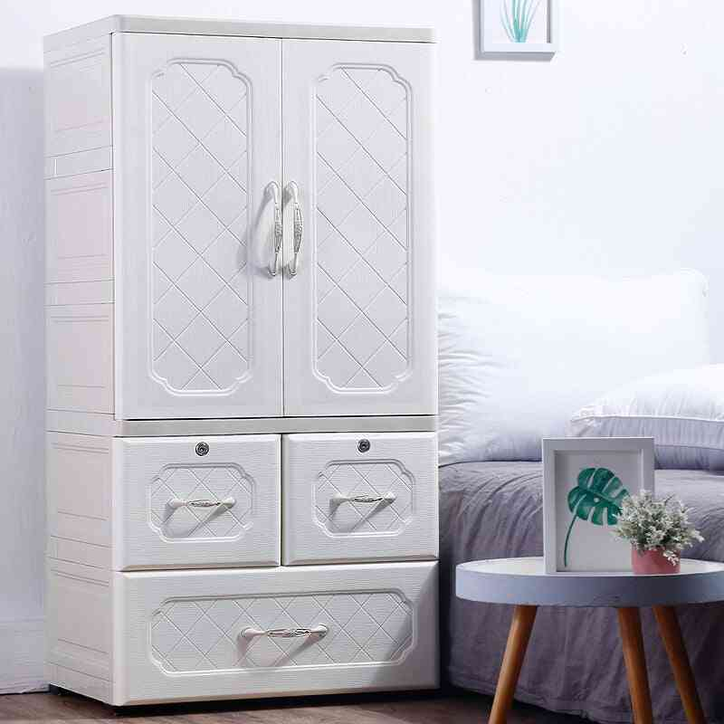 Fashion's Wardrobes Plastic Drawer Locker