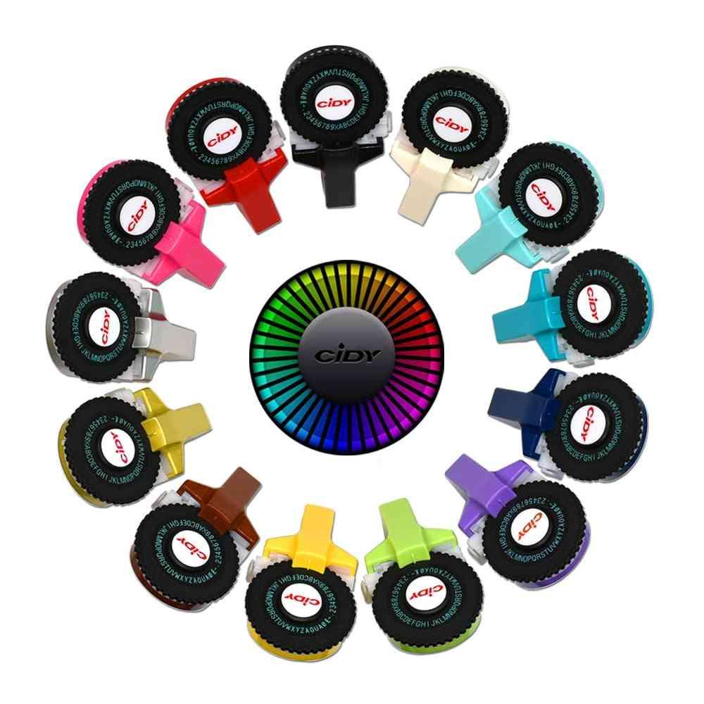 Dymo Label Maker Machine Multicolor Diy Handheld Embossing Dymo Label Printer