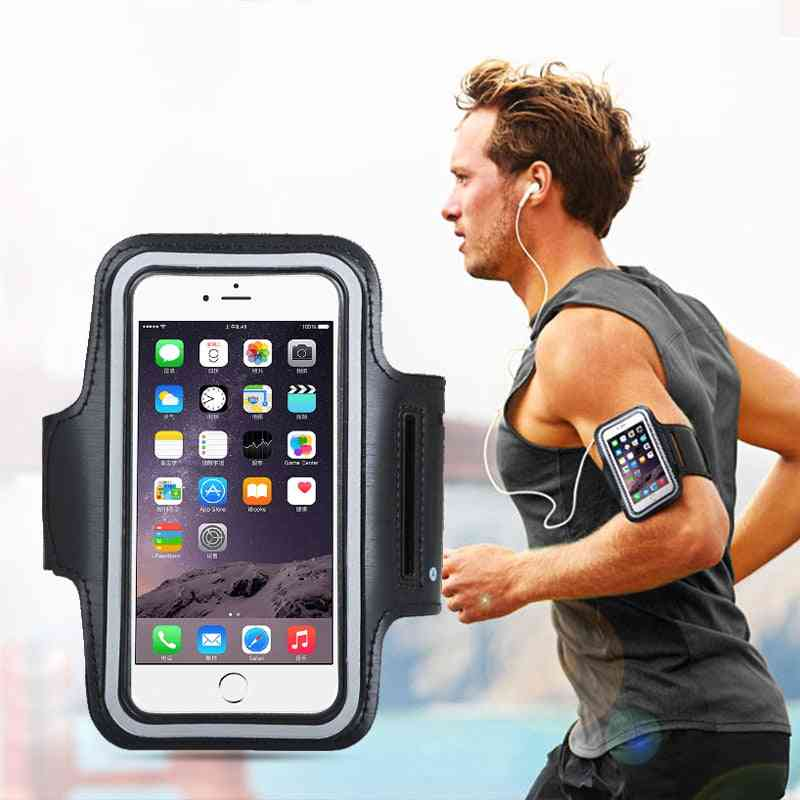Sports Cell Phone Holder Case For Iphone Huawei Samsung Xiaomi Phone On Hand
