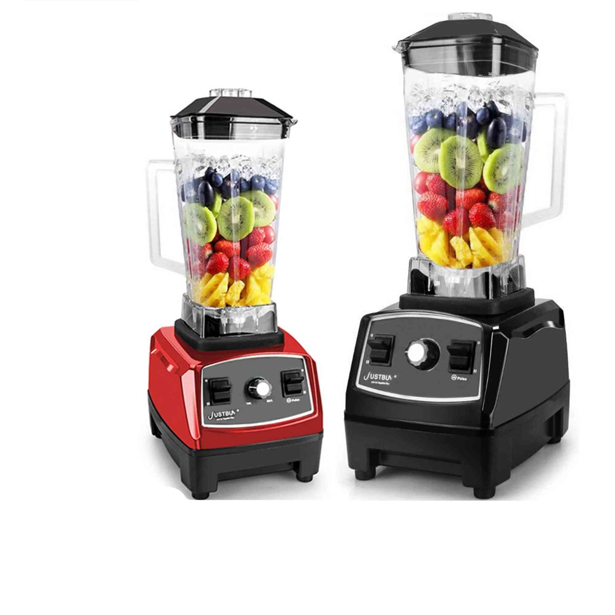 2200w- Commercial Blender Mixer For Food Processor, Blade Juicer, Ice Smoothie Machine
