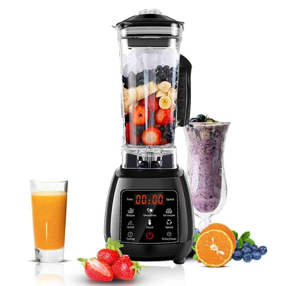 Digital Automatic, Touchpad Blender Mixer For Food Processor, Ice Smoothies, Fruit Juicer