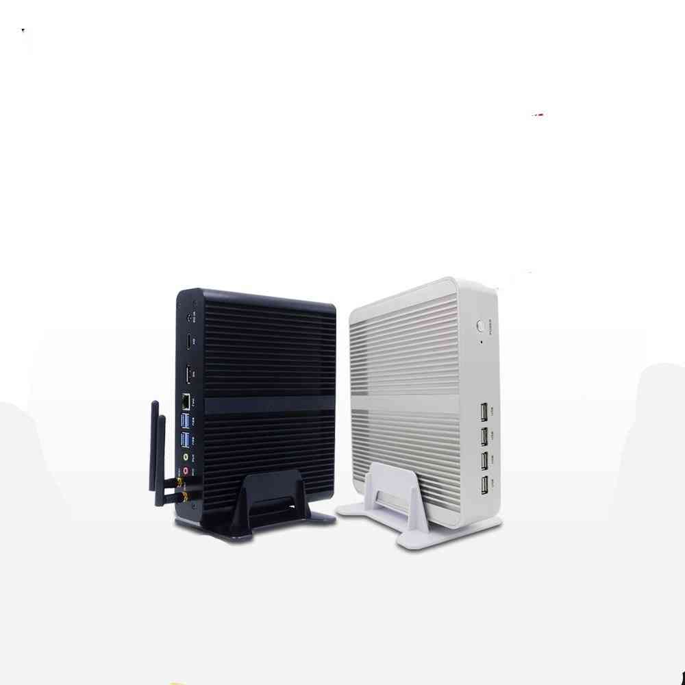 Fanless Mini Computer With Windows 10