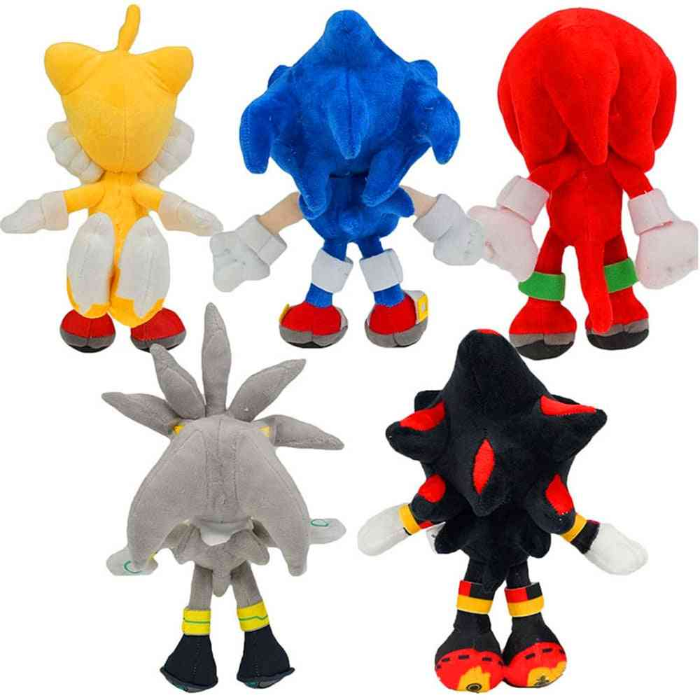 Halloween Costume Sonic Hedgehog Plush Backpack Carnival Dress