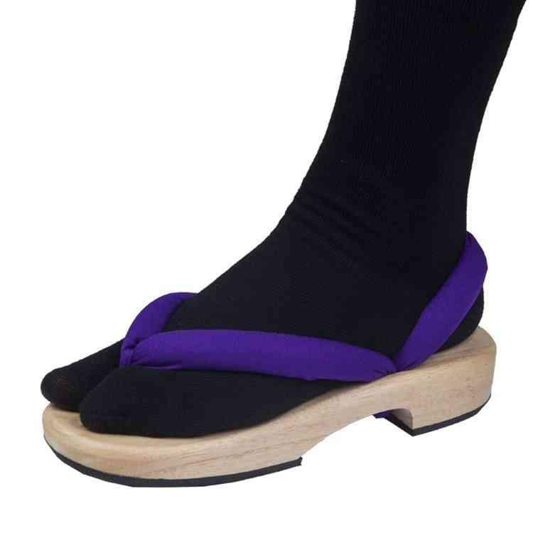 Anime Demon Slayer Cosplay Flip Flops Shoes