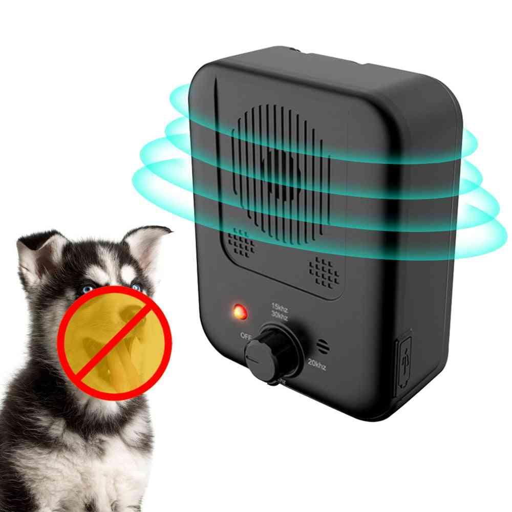 Pet Dog Repeller Ultrasonic Bark Suppressor, Outdoor Anti-noise, Anti-barking, Training Device