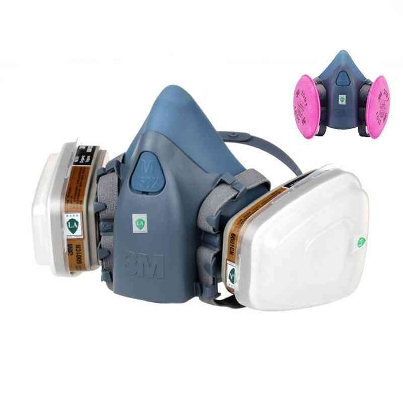 Military Poison Respirator Half Face Widely Use Mask
