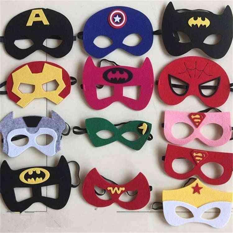 Superhero Mask, Princess Halloween Christmas Kids Adult Party Masks