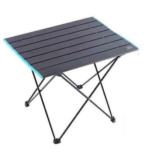 Ultralight Aluminum Outdoor Folding Table Stool Set