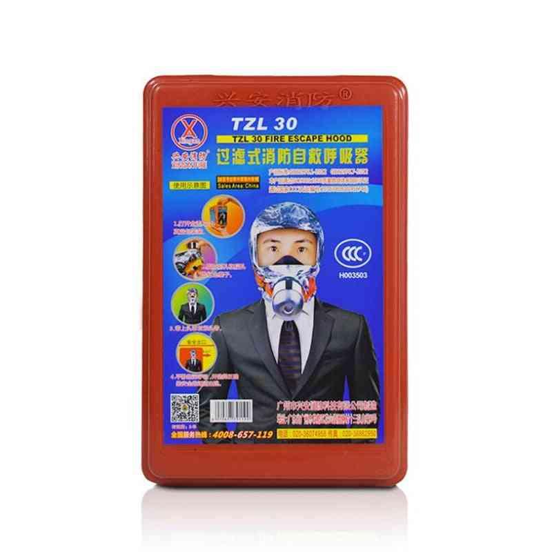 Fire Escape Face Mask Self-rescue Respirator Gas Mask