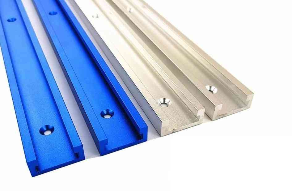 Aluminium Alloy T-track Slot Miter Track Jig Fixture For Router Table