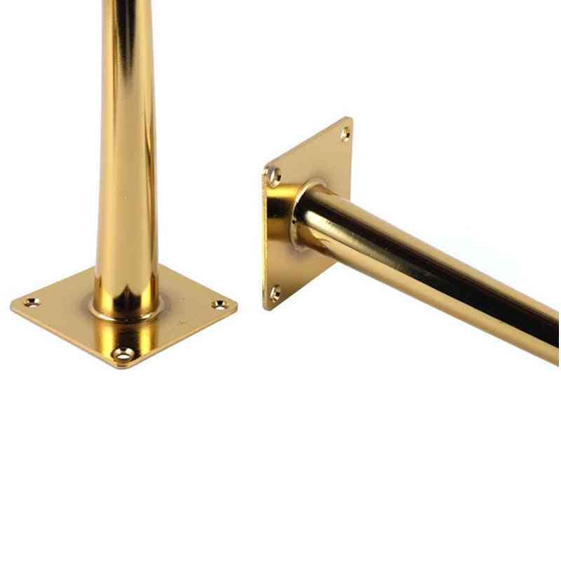 4pcs Metal Furniture Table Leg Hardware Tapered