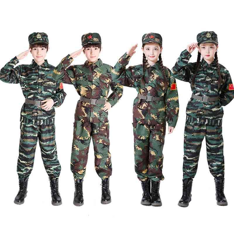 Military Uniform, Training Suit Boy, Special Force, Combat Jacket Pants Set, Soldier Clothes